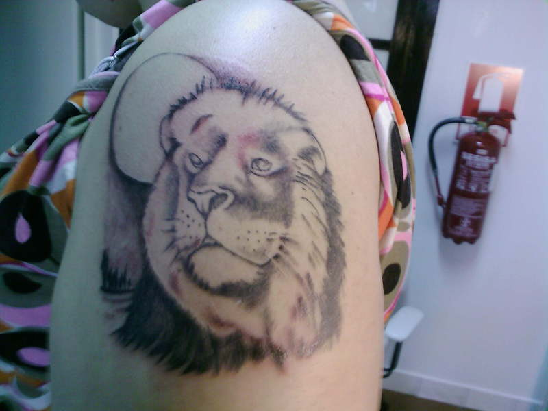 Tattoo Pics | Tattoo Photos: Lion Head Tattoos