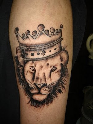 Lion Head Tattoos