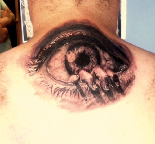 Sk-Ink Lovers!!!: Eye Tattoos