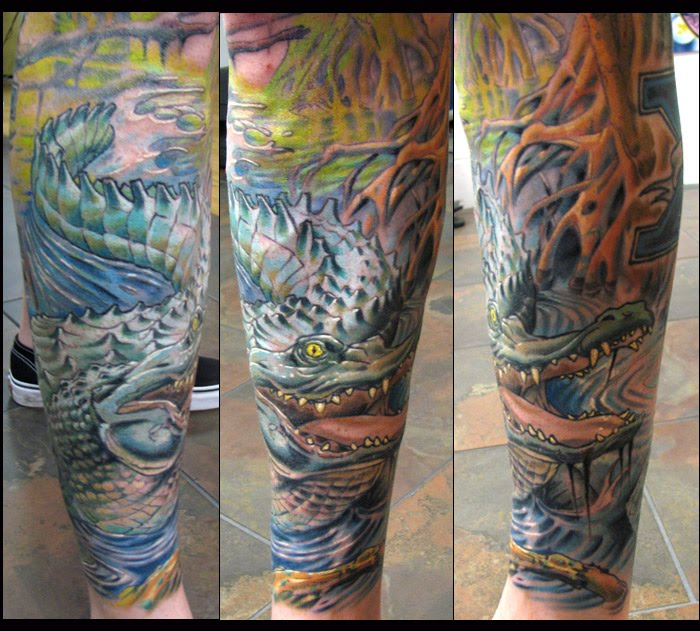 Alligator Tattoos Tattoo Pictures And Ideas