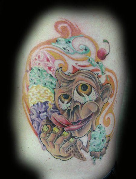 Cartoon Girl Monkeys. Cartoon Monkey Tattoos
