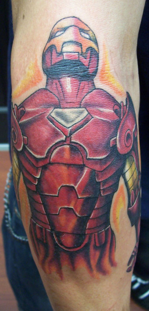 comic tattoos. Comic Book Tattoos