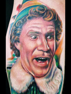 celebrity-tattoos. The most famous people on the face
