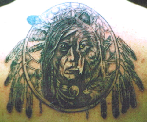 The American Indian Tattoo Design and Picture Native American Indian Tattoos