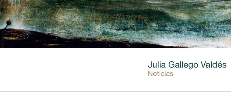 Julia Gallego Valdés Noticias