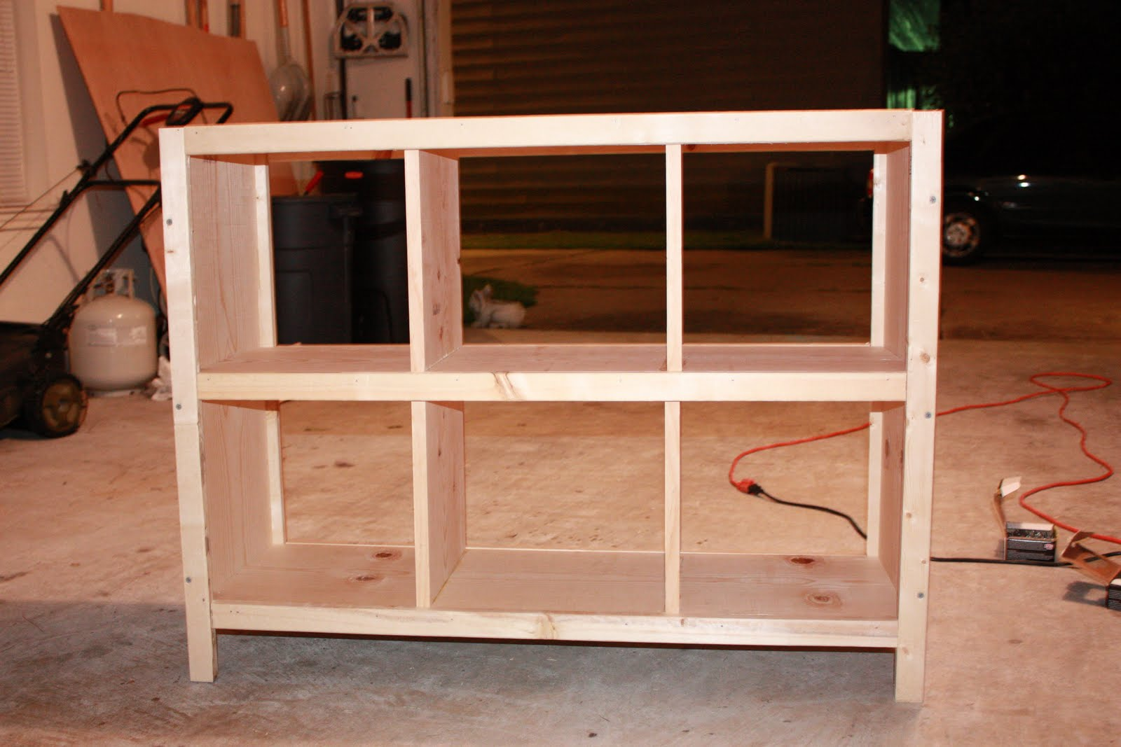 Restless 6 Cube Bookshelf