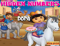 Hidden Numbers - Dora walkthrough