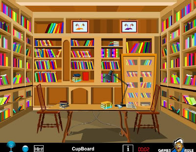 Reading Room Escape walkthrough