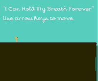 I Can Hold My Breath Forever walkthrough