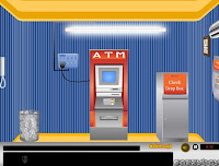 Gazzy ATM Escape walkthrough