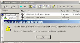 ColdFusion 8 ODBC Agent error
