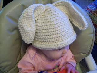 Mama G's Big Crafty Blog Floppy Bunny Hat - Easter #crochet