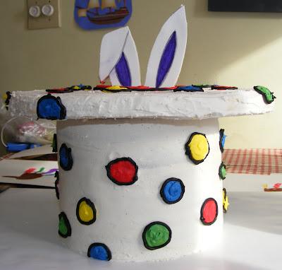"lastest ""cake creation"". It was for a little boy's third birthday ..."