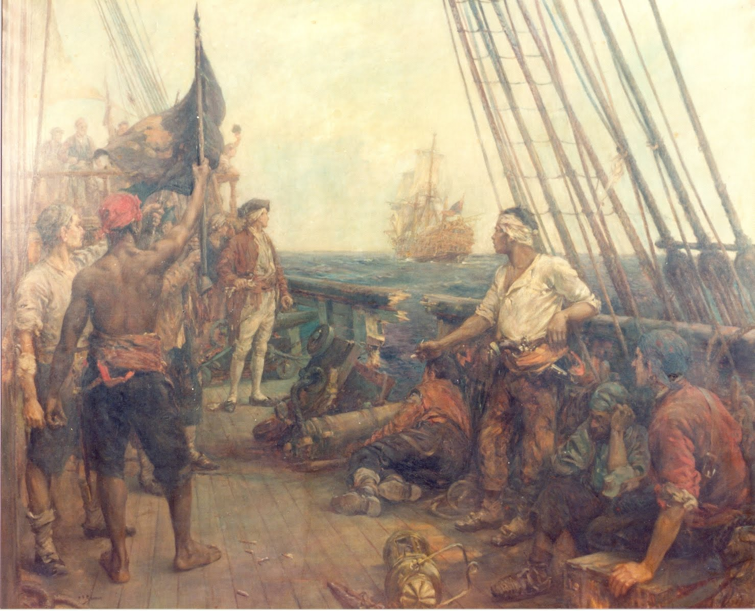 150 best pirate paintings images on Pinterest in 2019
