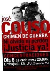 JOSÉ COUSO - Crimen de Guerra- Ni Olvido, ni Perdón - Justicia YA