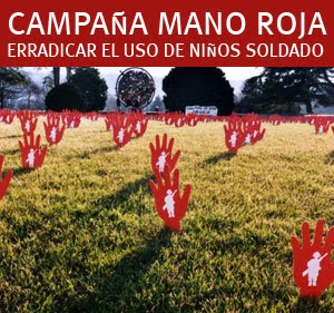 RED HAND DAY : Una Inicdiativa mundial contra el Uso de Niños Soldados