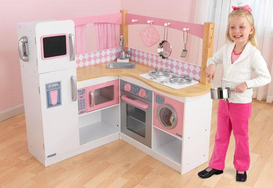 Kidkraft toys furniture kidkraft kitchen sets make a for Kids kitchen set sale
