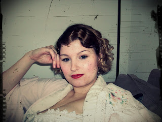 1920s flapper easy finger waves hair tutorial