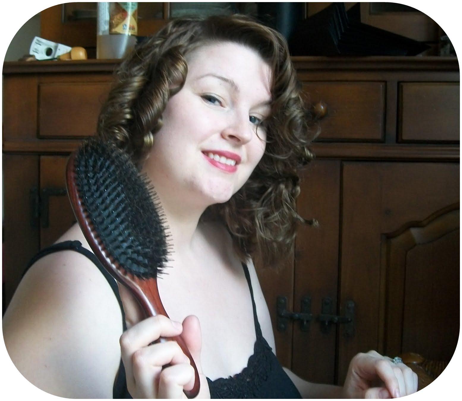 Tutorial Basic Pin Curls Va Voom Vintage Fashion Hair Curl Diagram Tutorials And Diy Style