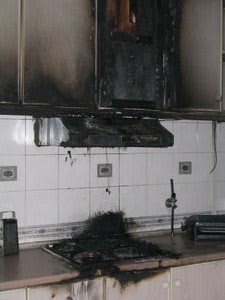 My First Kitchen Fire