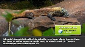 Dukung Pulau Komodo