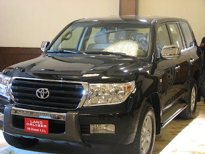 2010 Toyota Land Cruiser. The New Toyota Land Cruiser