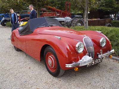 1948 Jaguar Xk120. The Jaguar XK120 was first