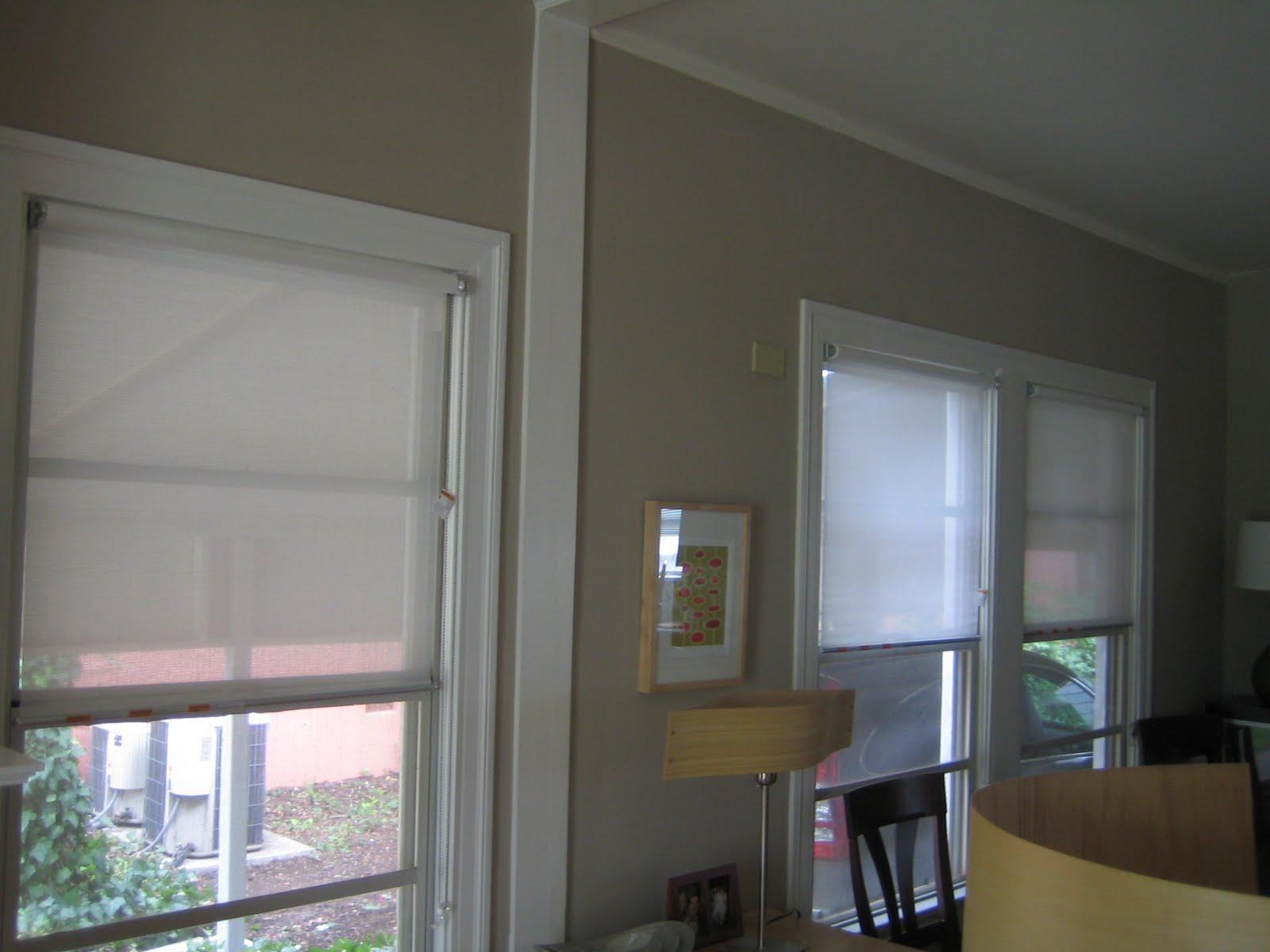 Modern window trim painted window trim and