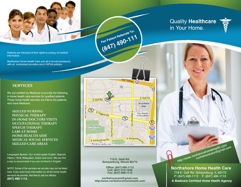 Healthcare Brochure. Brochure Medical & Health Care Brochures ...