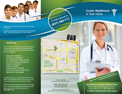 Maja Design Northshore Home Healthcare  Brochure