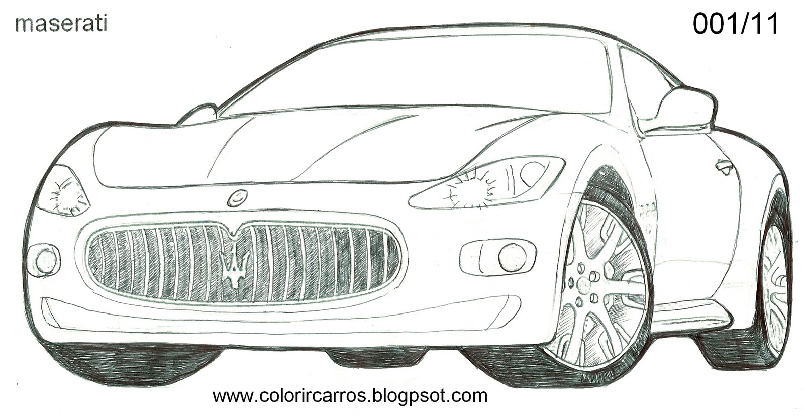 Train Coloring Page 18 likewise Printable Baseball Bat And Glove Coloring Pages moreover Maserati Gran Turismo together with Drawings also Details. on sports car coloring pages