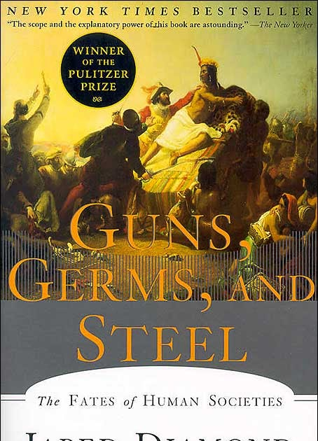 guns germs and steel review essay Summary and analysis of guns, germs, and steel: the fates and millions of other books are available for amazon kindle learn more enter your mobile number or email address below and we'll send you a link to download the free kindle app.