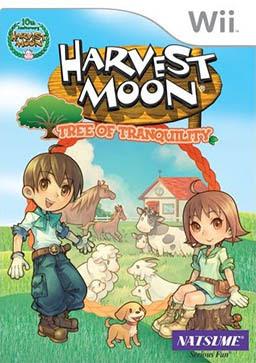 Caratula de Harvest Moon: El árbol de la tranquilidad