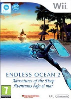 Caratula de Endless Ocean 2: Aventuras bajo el mar