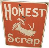 Honesty Scrap Award