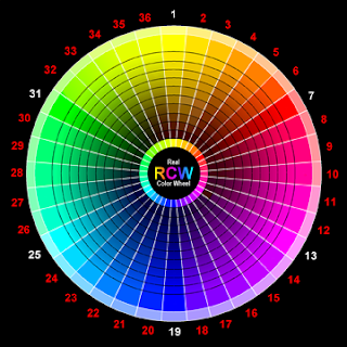 Interior design and home decorations colors in room - Color wheel interior design ...