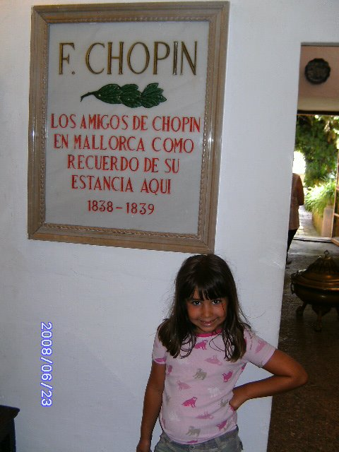 Celda Chopin.Valldemosssa.