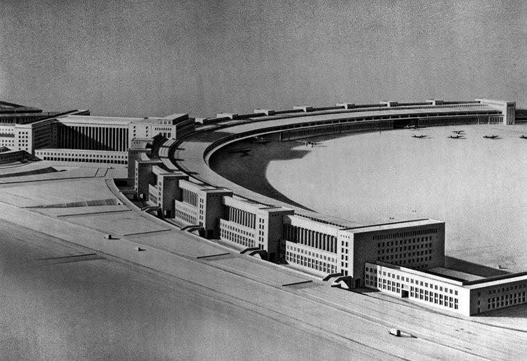 edificios lhd 6 berlin aeropuerto de tempelhof. Black Bedroom Furniture Sets. Home Design Ideas