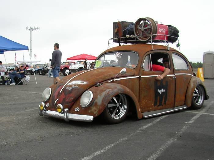 Coches al estilo de Rat Rod, en ruinas, coches viejos