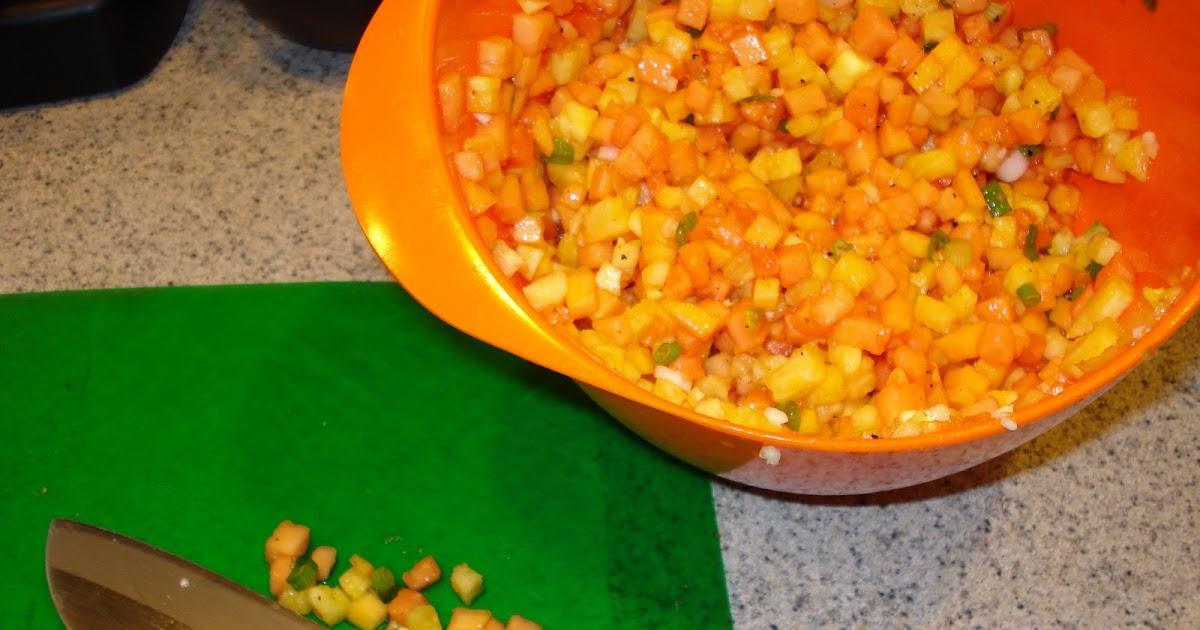Melissa Cooks Gourmet: Grilled Jerk Chicken with Papaya ...