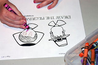 The Creativity Room kids Focus Thanksgiving Coloring Pages
