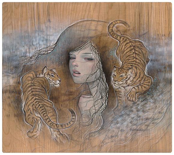 Audrey Kawasaki art arte