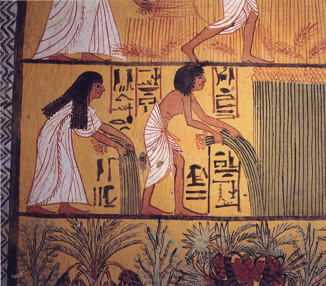 The art history journal egyptian art for Egyptian mural paintings
