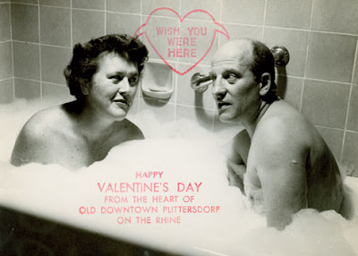 A Valentine Days card from Julia & Paul Child! How erotica and innocent at the same time! Who woulda thunk it?