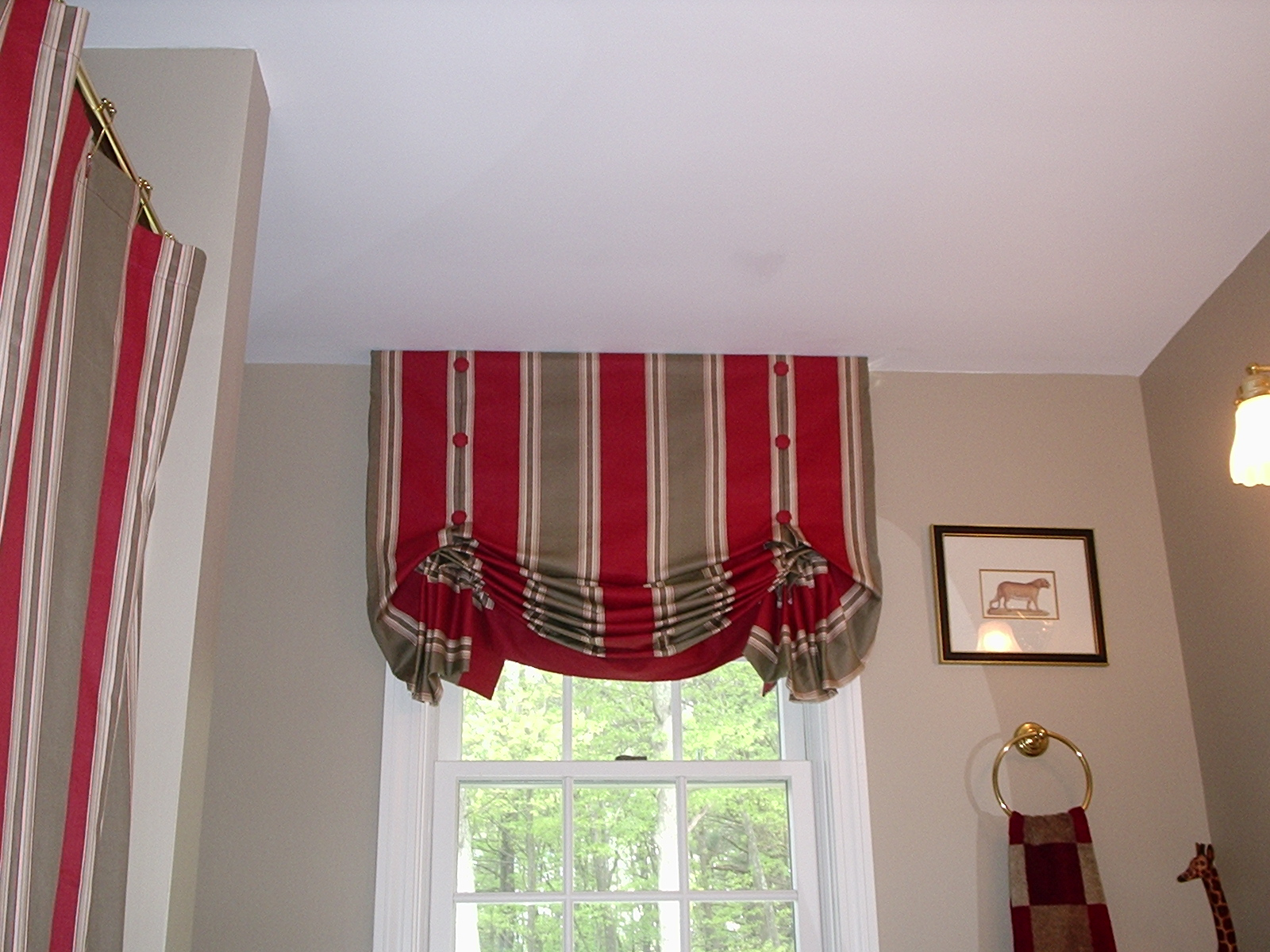WAVERLY FABRIC SHOWER CURTAINS - Curtains and Blinds