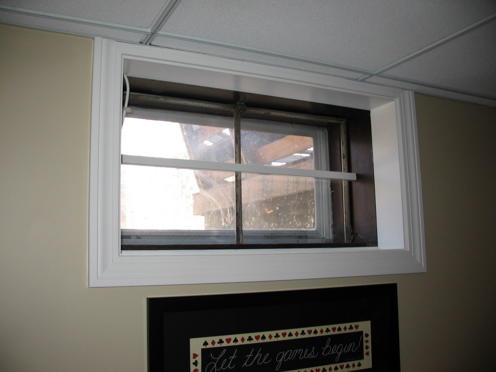 Basement remodeling ideas basement window treatments for Picture window replacement ideas