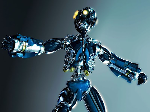 antares3 30 Awesome 3D Robots Illustrations