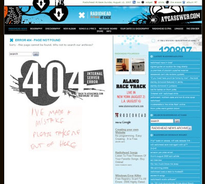 404 Error Pages: Reloaded