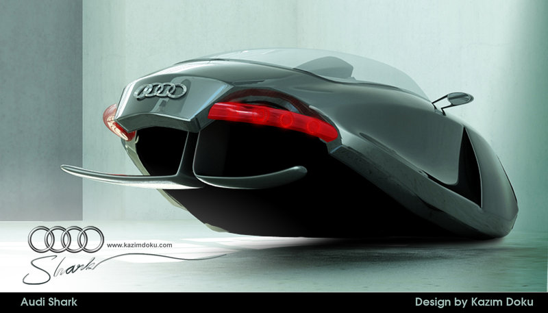 audi shark car design