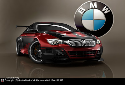 BMW M6 GT concept design